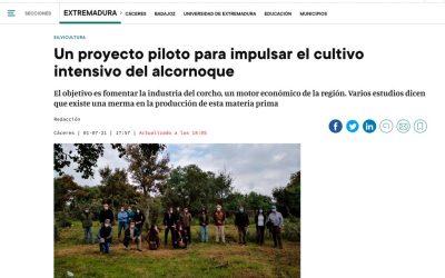 Artículo en elPeriódicoExtremadura, el 1 de julio de 2021